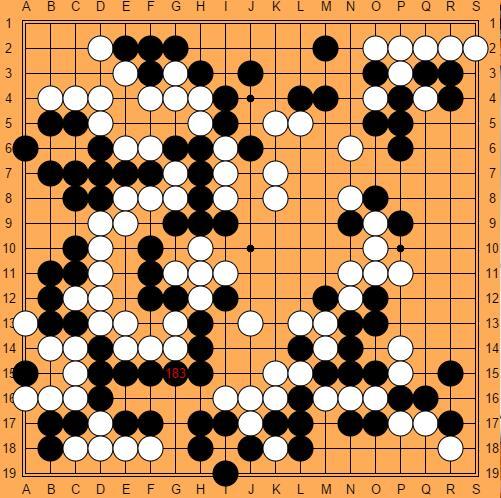 围棋背棋谱分享展示图片